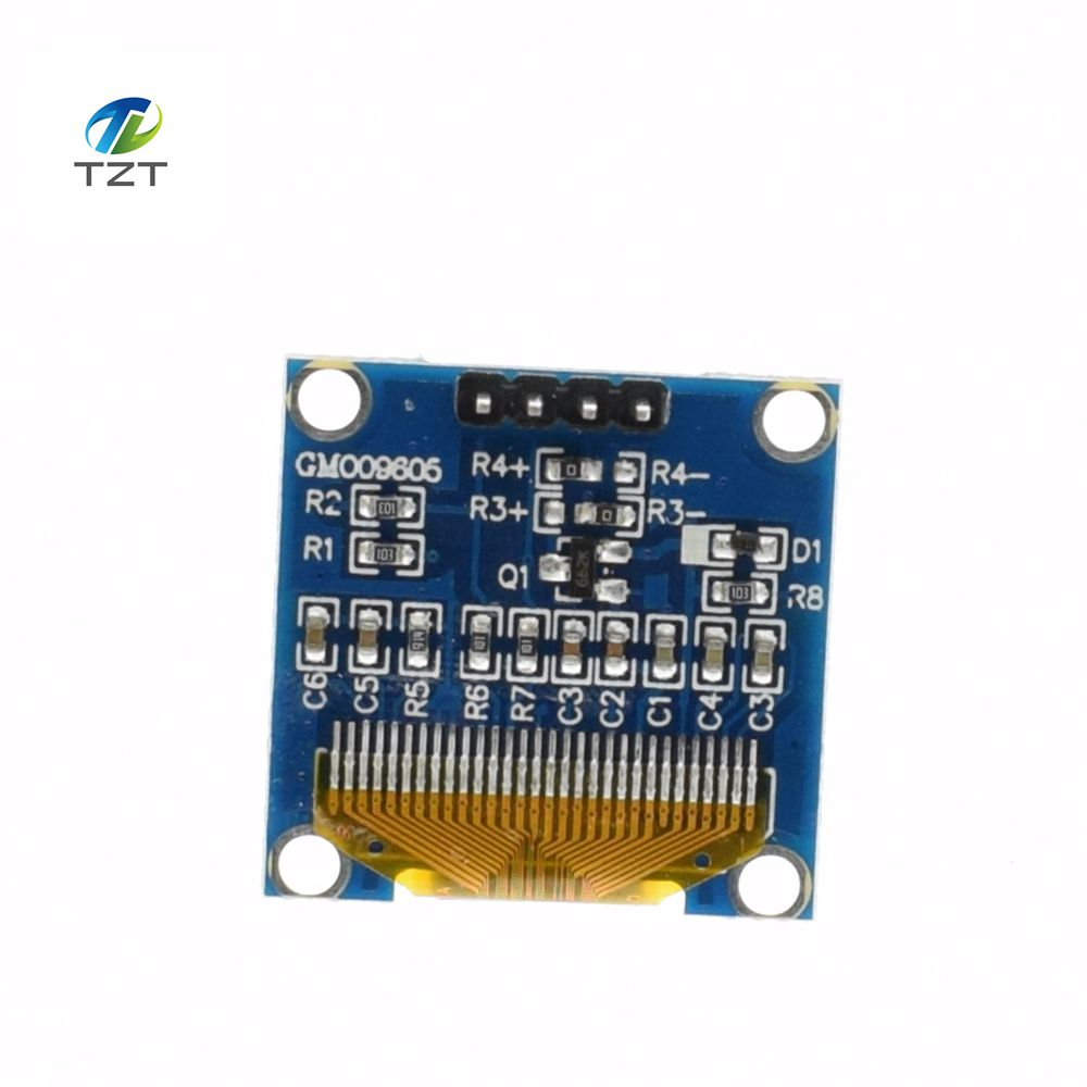 Image 4 - 10pcs White Blue color 0.96 inch 128X64 OLED Display Module Yellow Blue OLED Display Module For Arduino 0.96 IIC SPI Communicateoled display moduledisplay module128x64 oled -