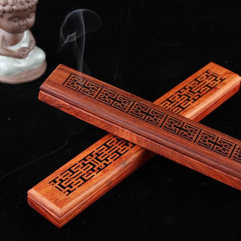 100% Wahr Bambus Weihrauch Brenner Hand Carving Hohl Weihrauch Stick Halter Joss Stick Box Liegen Räuchergefäß Für Wohnkultur Wohnzimmer Büro E $