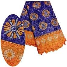SMT! Navidad de Alta calidad tejidos bordados Bazin Riche bazin riche africano telas de encaje de algodón de la venta caliente tela de encaje! L31811
