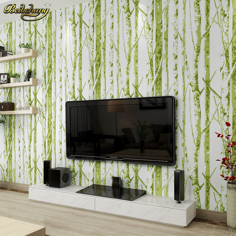 beibehang papel de parede Modern and simple leaf murals 3D stereo non-woven wallpaper bedroom living room TV backdrop wallpaper blue earth cosmic sky zenith living room ceiling murals 3d wallpaper the living room bedroom study paper 3d wallpaper