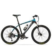 T8 High Quality 26 Inches Cool E Bike 6 Grade Torque Sensor System 9 Speeds Oil