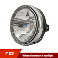 Universal Custom Clear 7'' 12V LED Motorcycle Projector Headlight for HONDA Honda CB400 CB500 CB1300 Hornet 250 600 900