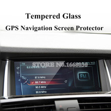 For BMW X3 F25  X4 F26 Premium Tempered Glass GPS Navigation Screen Protector