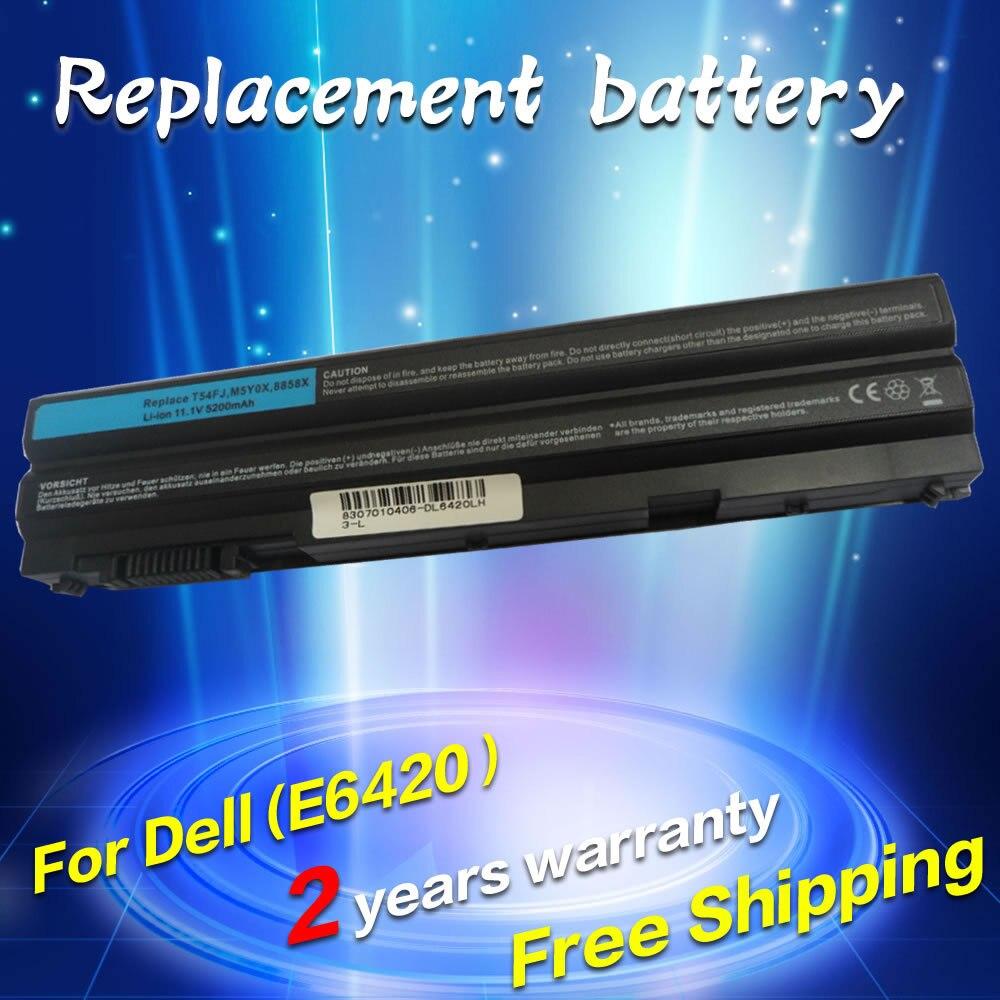 JIGU Laptop Battery For Dell 8858X 8P3YX 911MD Vostro 3460 3560 Latitude E6120 E6420 E6520 4400mah