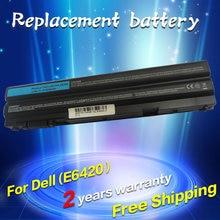 Jigu Аккумулятор для ноутбука Dell 8858X 8P3YX 911MD Vostro 3460 3560 Latitude E6120 E6420 E6520 4400 мАч