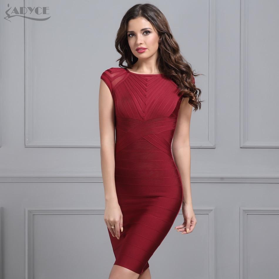 Adyce Fashion Bandage Dress 2018 Women Celebrity Evening Party ...