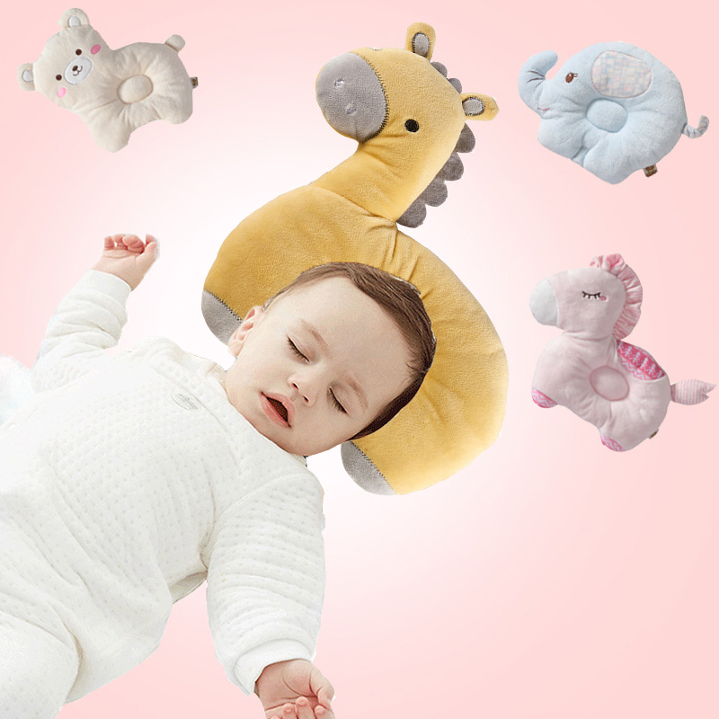 0-3 Years Old Breathable Stereo Protect Head Baby Pillow Newborn Cartoon Infant Shaping Nursing Pillow Kids Room Decoration0-3 Years Old Breathable Stereo Protect Head Baby Pillow Newborn Cartoon Infant Shaping Nursing Pillow Kids Room Decoration