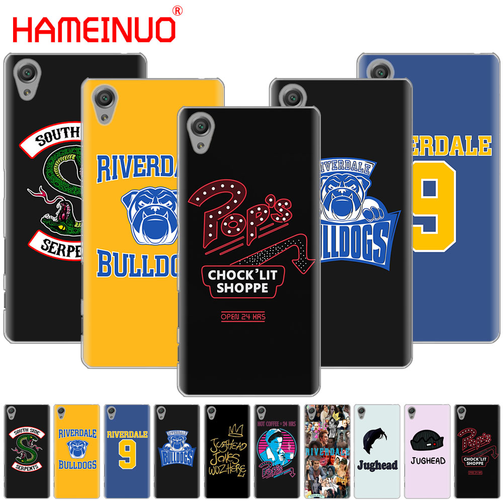 Phone Bags & Cases Half-wrapped Case Hameinuo American Tv Riverdale Cover Phone Case For Sony Xperia C6 Xa1 Xa2 Xa Ultra X Xp L1 L2 X Xz1 Compact Xr/xz Premium