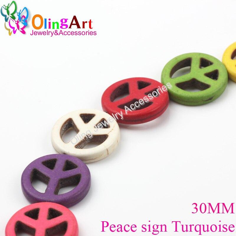 OlingArt 15,20,25,30 mm, Beads Loose Loose Round multicolor Mixed - Bizhuteri të modës - Foto 6