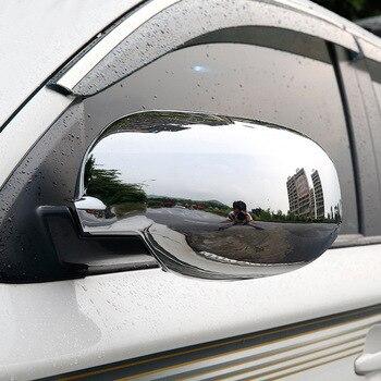 ABS Chrome Para Mitsubishi Outlander 2013 2014 2015 2016 2017 2018 Espelho lateral espelho retrovisor capa Guarnição Styling acessórios 2pcs