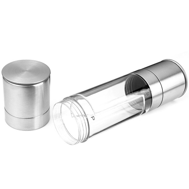 Stainless steel cooking utensils Manual Pepper Salt Spice Mill