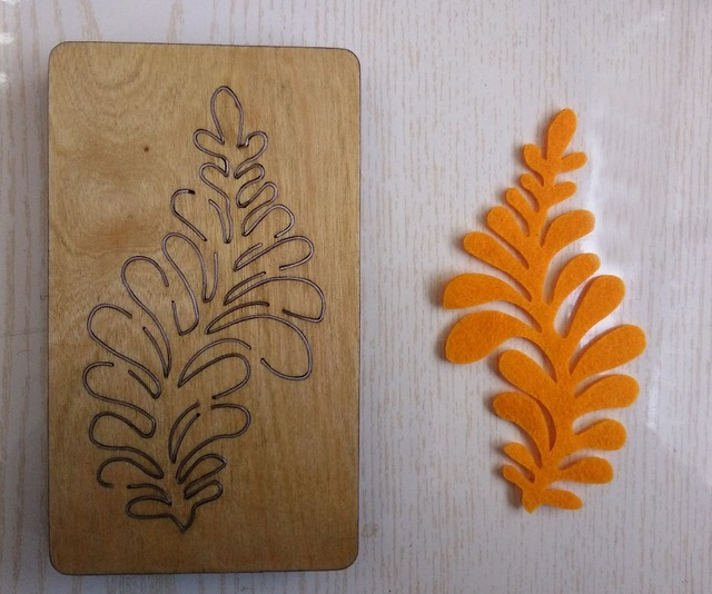 S type flower/ mold / assembly / wood mold / laser template ...