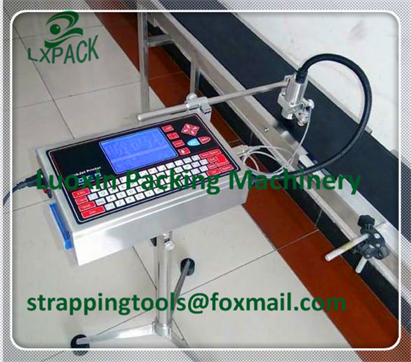 LX-PACK El precio de fábrica más bajo La más alta calidad LX-PACK MODELO 1 Impresora de inyección de tinta económica de alta resolución Codificador de impresoras de inyección de tinta