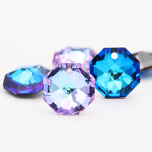 hot deal buy jewelry accessories k9 glass rhinestones pendant necklace clear crystal pendant lights shining tiny diamond pendant diy earring