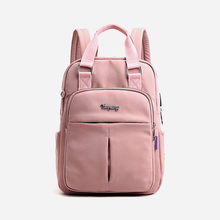 2019 Trend Ladies Backpack USB Charging Backpack Computer Bag Large Capacity College Wind Travel Backpack New Casual Student Bag manjianghong retro casual canvas travel bag upscale wild fashion backpack large capacity simple college wind backpack