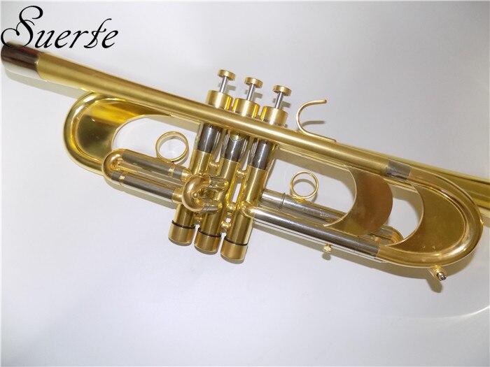 Profesional Heavy Trumpet Bb B Alat musik datar Passivasi - Alat-alat musik - Foto 3