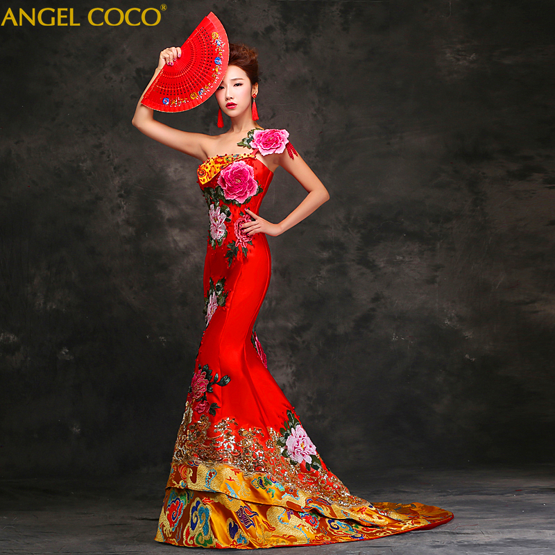 Luxury Zuhair murad   evening     dresses   long Chinese style embroidery   Evening   Gowns mermaid   dress   Formal Saudi Arabia Dubai Abaya