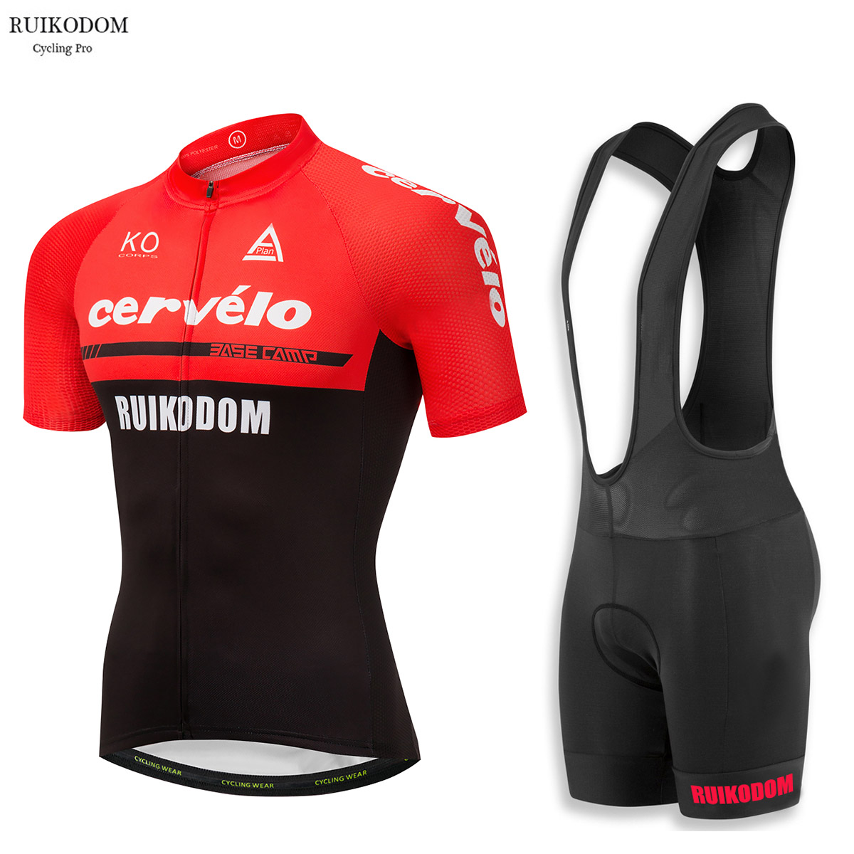 2018 Cervelo Summer Men's Cycling Jersey Set with Bib Ropa De Ciclismo Maillot Ciclismo Quick Dry Pro Team Bike Clothes 2016 team sky cycling jerseys bike maillot ciclismo bycicle clothing quick dry men summer clothes wear set ropa de ciclismo