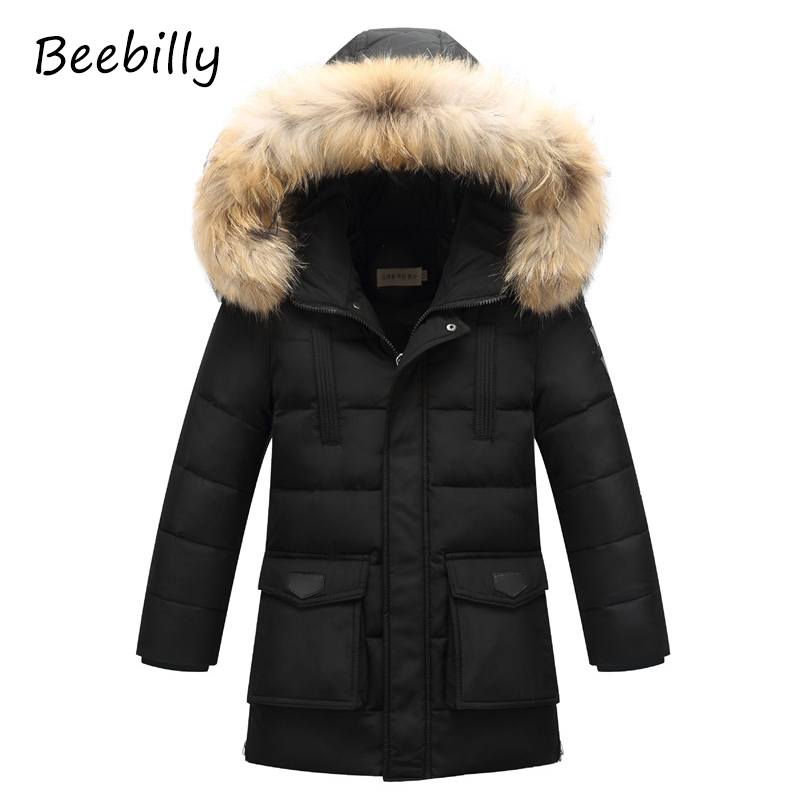 2017 New arrival Children's Down Jackets/coats Parkas fur boy Coat thick duck Down feather jacket Outerwears winter-40degree D10 2017 kids jacket winter for girl and coats duck down girls fluffy fur hooded jackets waterproof outwear parkas coat windproof