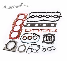 KEOGHS 06A 103 171 A Engine Multilayer Steel Gasket Oil Seal Flange Kit For Audi A4 A6 TT Volkswagen Passat Golf 2.0TSI BPY BWA стоимость