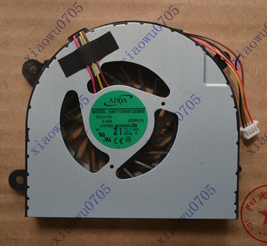 SSEA Laptop New CPU Fan For IBM Lenovo G780 laptop Cooler Fan AB07105HX12DB00 Free shipping