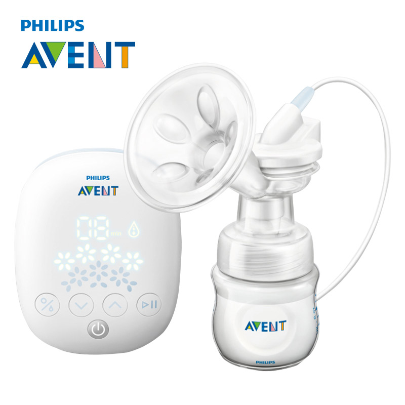 AVENT Natural Single Breast Pump Electric Automatic Massage Feeding BPA Free Convenience Baby Sucking Milk Squeeze Pump