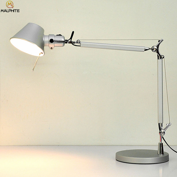 LED Dotykowy ściemniania Oczu Lampa Stołowa Salon Sypialnia Tabeli światła Wystrój Domu Składane Obrót Oświetlenie Przemysłowe Oprawy