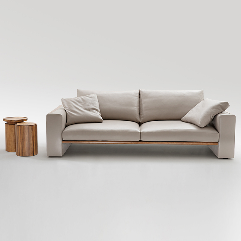 Nordic Ikea Sofa Leather Wood Master Design Model Room Furniture Custom In Hotel Sofas From On Aliexpress Alibaba Group