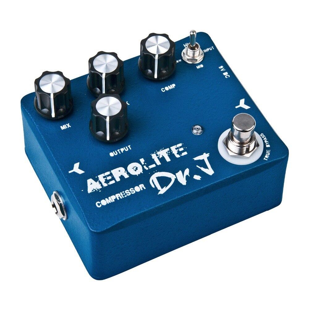 купить Dr. J Aerolite Compressor Electric Guitar Effect Pedal True Bypass Mix Adjust D-55 недорого