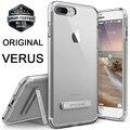 Caso verus para iphone 7/7 plus originais prémio Proteção à prova de choque TPU Ultra Fina Crystal Clear Completa Cobertura Kickstand casos