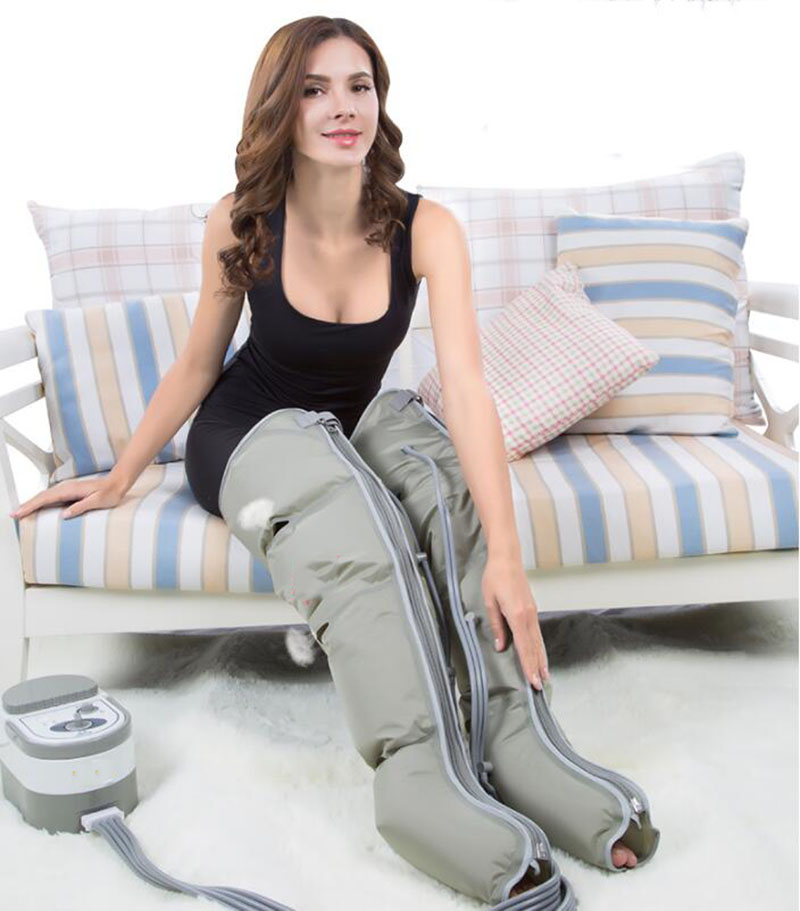 HANRIVER The leg massager old pneumatic automatic calf massager wave physical therapy pressure foot massage machine