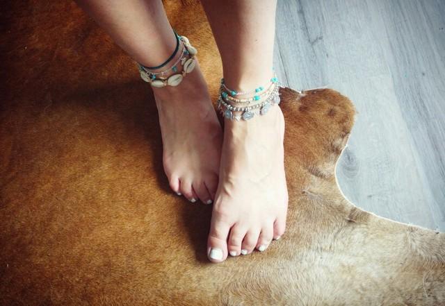 Boho Barefoot Bohemian Beach Anklet