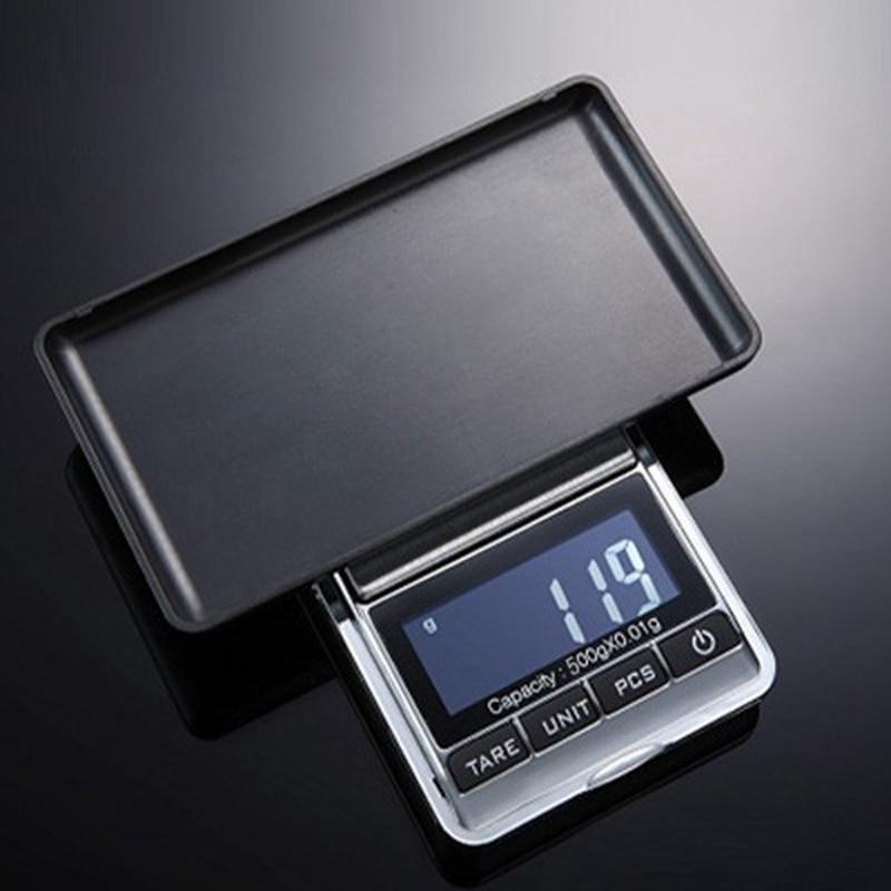 500 g 0,01 g digitális zsebmérleg 500G 0,01 g precíziós ékszerek elektronikus mérlegek súlymérlegelés súly egyensúly tára PCS funkció