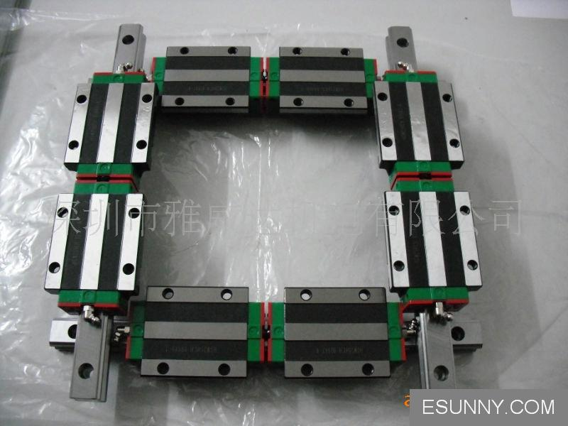 CNC 100% HIWIN HGR45-650MM Rail linear guide from taiwan cnc hiwin hgw30cc rail linear guide from taiwan
