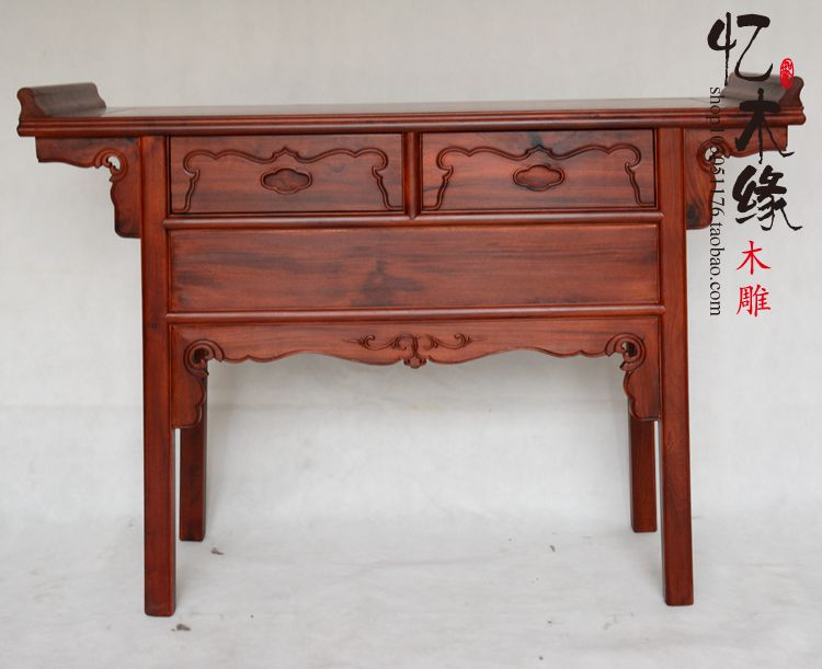 Suanzhimu wood Buddha altar altar Chinese table for antique mahogany table. a chinese style mahogany altar altar fokan african rosewood altar entrance hall table table