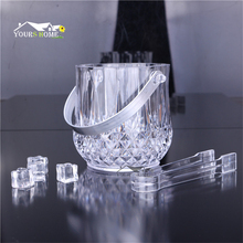 1.2L Gorgeous Diamond Ice Buckets With Tong