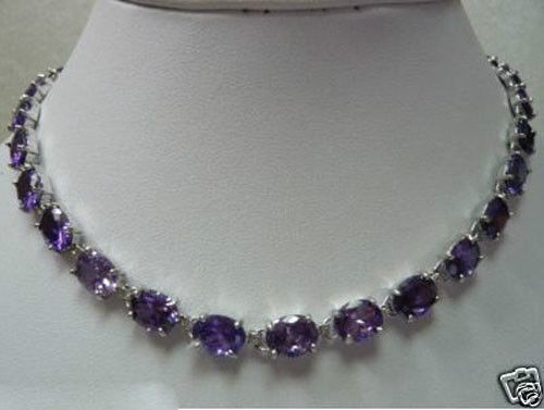 Hot sale new Style >>>>>Jewelry Beautiful Amethyst Necklace