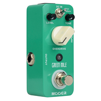 Mooer Green Mile Overdrive Micro Guitar Effects Pedal Warm And Hot Modes True Bypass MOD1