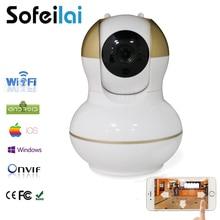 Home Security IP Беспроводной Wi-Fi Камеры Наблюдения 720 P Ночного Видения ВИДЕОНАБЛЮДЕНИЯ PT ИК камара телеметрией HD onvif P2P ВИДЕОНАБЛЮДЕНИЯ yoosee cam