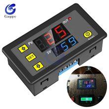 AC 110V 220V DC 12V dijital zaman geciktirme rölesi LED ekran döngüsü zamanlayıcı kontrol anahtarı ayarlanabilir zaman rölesi zaman gecikmesi anahtarı