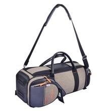 Плотная мягкая сумка, устойчивый чехол Bb trumpet, водонепроницаемая сумка для инструментов, переносная сумка на плечо, противоударный чехол