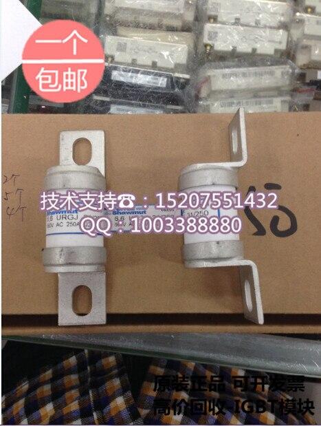 Roland Ferraz fuses 6,6 URGJ31/250 250A 660V original new fuse wires цена