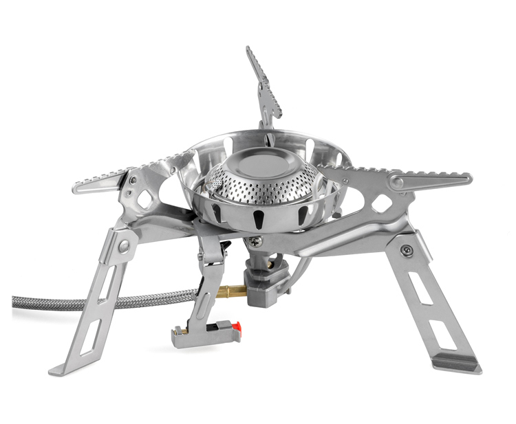 New High Power Split Gas Stove Stainless Steel Stove Windproof Outdoor Foldable Camping Stove  FMS-1002123 bulin bl100 b5 outdoor camping foldable split gas stove