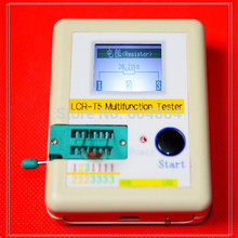 Hot Selling New 3Sets Diode Triode Capacitance ESR Meters (Mos Triac + CASE + Battery ) Transistor Testers Dropshipping