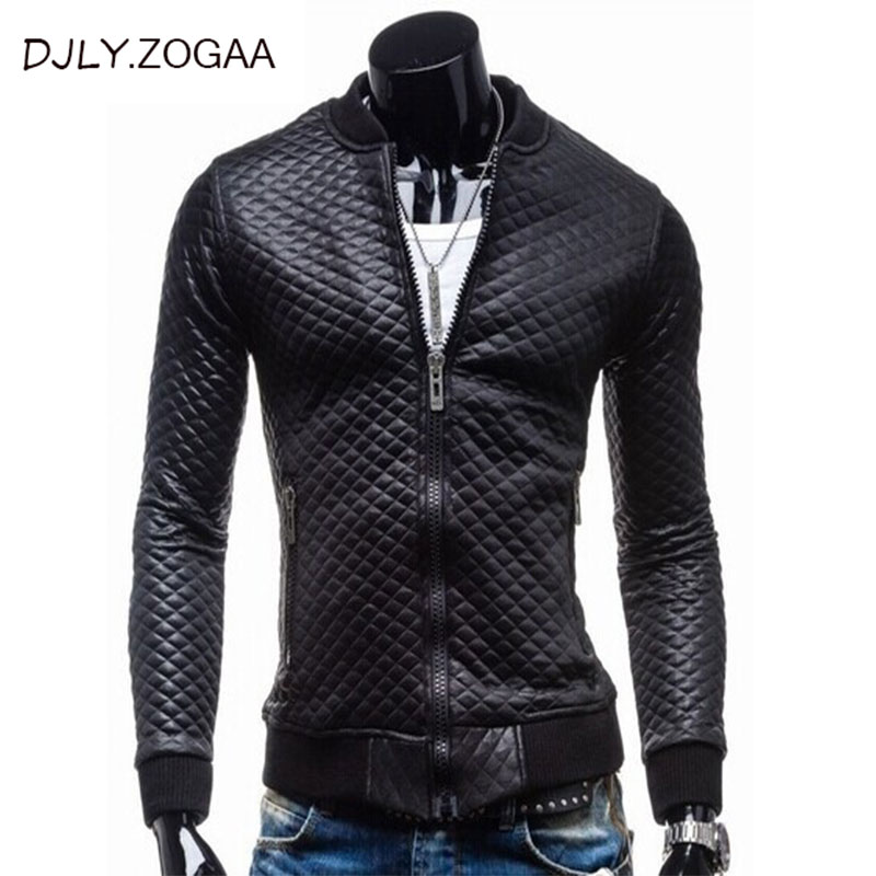 Men's Winter Pu Leather Coat Long Sleeve Warm Jacket Plus Size Slim Brand Man Jacket Solid Black Outerwear Male Tops Clothing