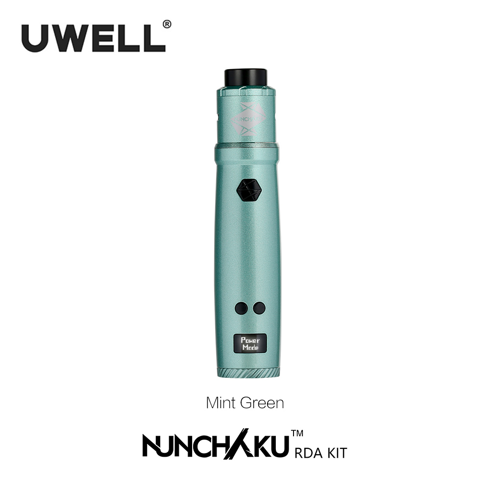 Uwell Nunchaku RDA Starter Kit 80W Powered by single 18650 battery(Without Battery) E-cigarette Vape Kit