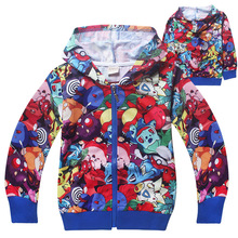 2018 new childrens boy spring and autumn zipper hoodie sweatshirt jacket long-sleeved clothes