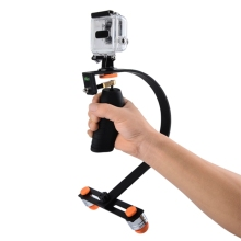 Professional Mount For GoPro Hero 5 Session/ 4s/ 4/ 3+/ 3/ 2 Stabilizer Rig Camera Video Cell Phone Handheld Push Screw Base