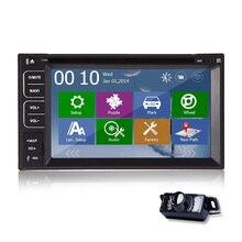 Steering Wheel Car DVD Player Bluetooth FM AM Touchscreen Receiver Autoradio Video Radio Map GPS Stereo RDS Navigator