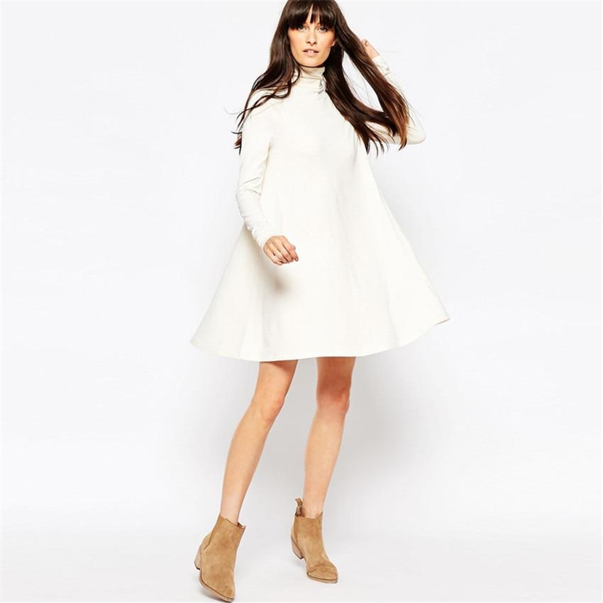 Vestidos blancos en invierno